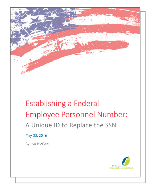 Establishing a Federal Employee Personnel Number: