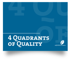 4 Quadrants of Quality